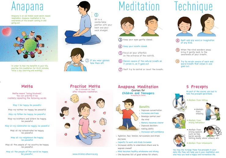 Anapana Meditation for children and teens